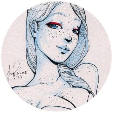 Sasha Palacio - Hint of Red 2