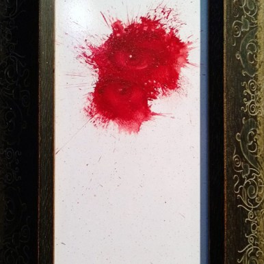 Oil on wood, 7 x 4 in. $400.00 Sold