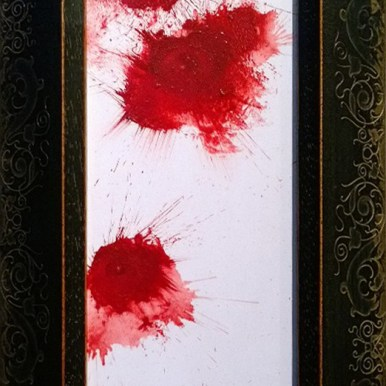 Oil on wood, 7 x 4 in. $400.00