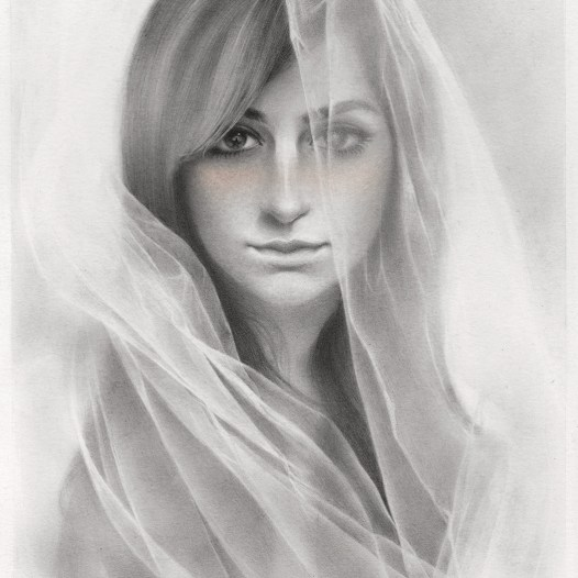Graphite and pastel on Bristol smooth, 6.5 x 9.5 in. (13.25 x 16.5 in. framed) $550.00