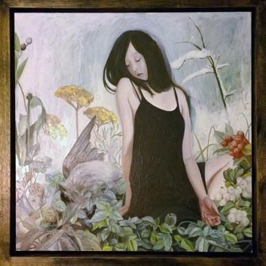 Oil on wood panel 8 x 8 in. / 9 x 9 in. framed $1200