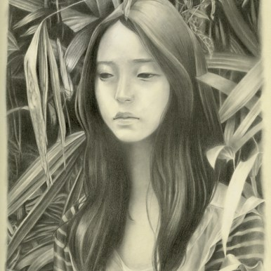 Graphite on moleskin paper 11 x 7.5 in. $700