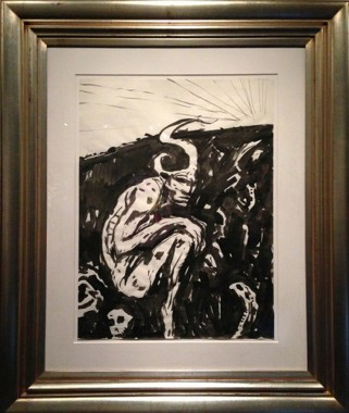 Ink on paper, 18 x 24 in. (in 22 x 28 in. frame) $1,900.00 Sold