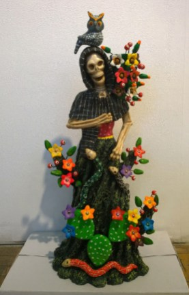 Sculpted and painted clay, 10 x 22 x 7.5 in. $600.00