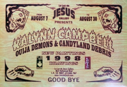 Kalynn Campbell - Ouija Demon and Candyland DebrisGlossy poster, 24 x 16 in. $25