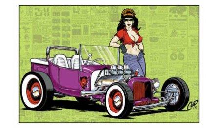Coop - Hot Rod GirlPoster, 36 x 24 in. $5.00