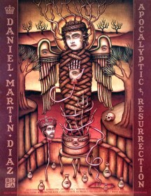 Daniel Martin Diaz - Apocalyptic ResurrectionGlossy poster, 18 x 24 in. $10