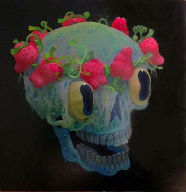Oil on panel, 16 x 16 in. $1,900.00 Sold