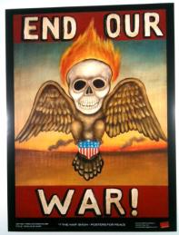 Fred Stonehouse - End Our WarGlossy poster, 18 x 24 in. $20