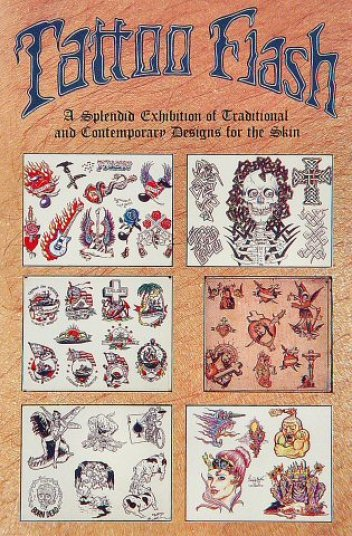 Tattoo Flash - Psychedelic Solution Gallery 1991Glossy poster, 22 x 30 in. $25
