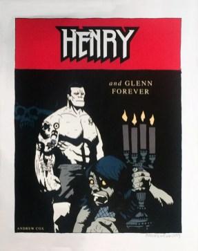 Andrew Cox - Henry, Print