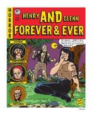 Beth Dean - Horror Comic Cover