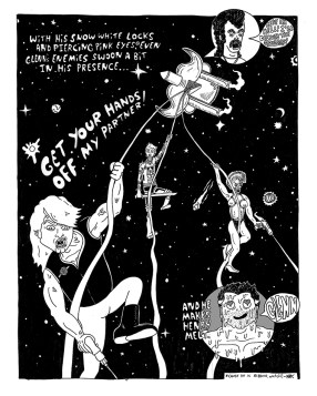 Keenan Marshall Keller - Henry & Glen in Space! page 8