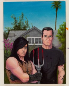 Tom Neely - Henry & Glenn - Forever & Ever Graphic Novel Cover - L.A. Gothic