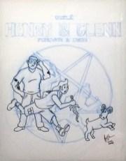 Jeremy Owen - Tin-Tin Homage Cover (original)