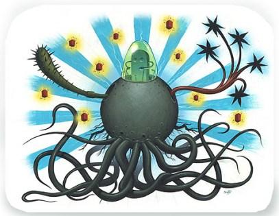 Jeff Soto - Twelve Armed Octopus