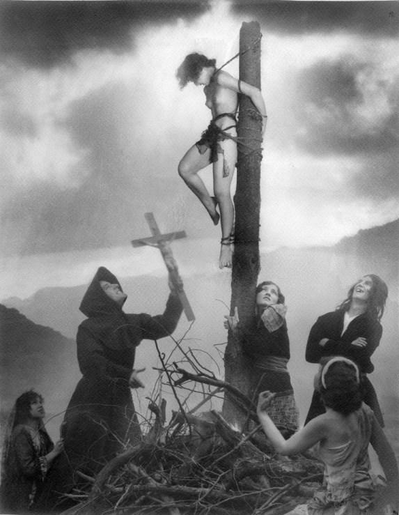 William Mortensen - Staked Witch Scene