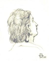 Christopher Ulrich - Self-Portrait Element (Last Supper)