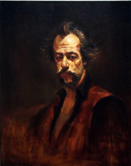 Christopher Ulrich - Portrait of the Artist David Leffel