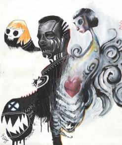 Exquisite Corpse - David Mack, Jon Schnepp, Jim Mahfood, Jason Shawn Alexander