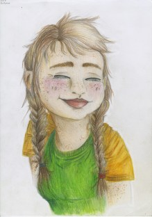 Lili Todd - AutumnColored pencil on paper, 11x14 in. $150