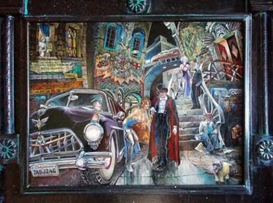 "Harold Fox - A Second in Time Oil on masonite. 15.75x12"" in 22x18.5"" custom frame$1,000 Sold"