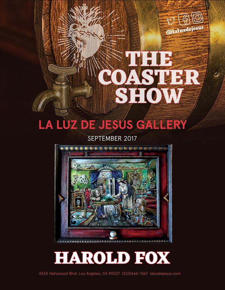 La Luz de Jesus | The 5th Annual Coaster Show & Harold Fox