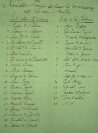 Correva l'anno 1767