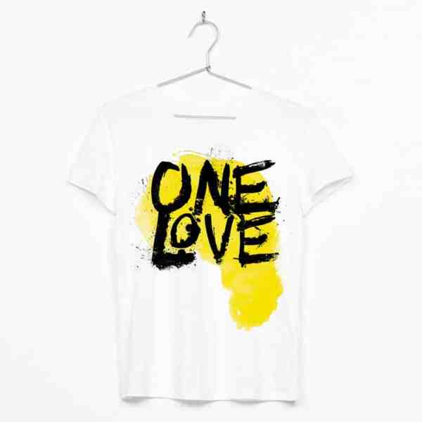 One Love Africa Yellow Map