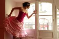 robe-de-mariee-courte-rose