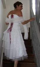robe-de-mariee-lacage-fushia