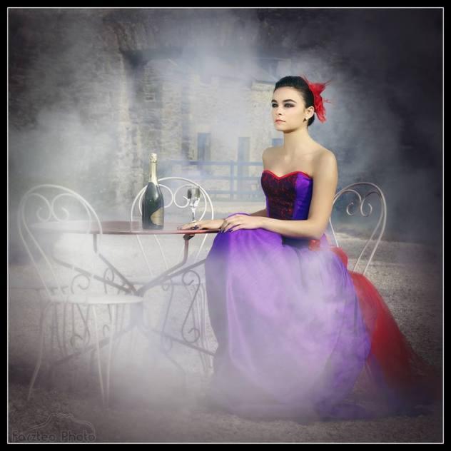 robe-de-mariee-mauve-et-rouge
