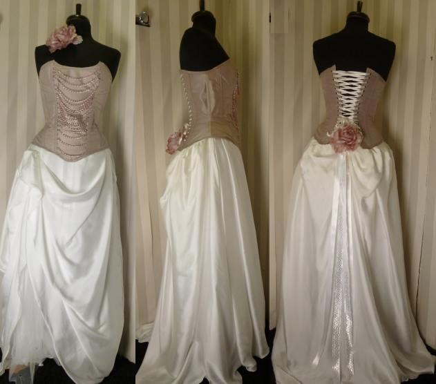 robe-de-mariee-corset-boheme-rose-poudre-jupe-drapee-pira
