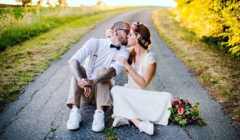 robe de mariée bohême