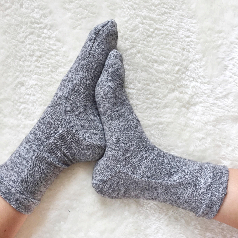 J'ai cousu des chaussettes !
