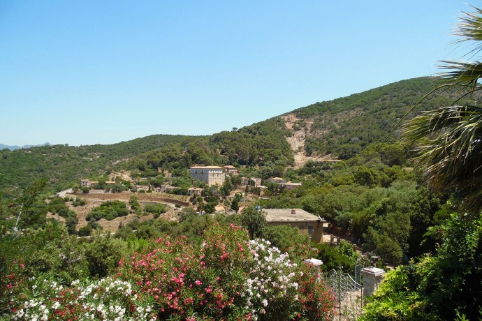 Panorama di Ingurtosu - B&B La Magnolia - Ingurtosu, Sardegna