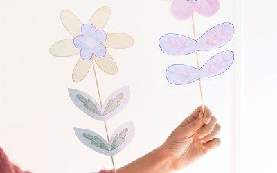 DIY les fleurs à piquer