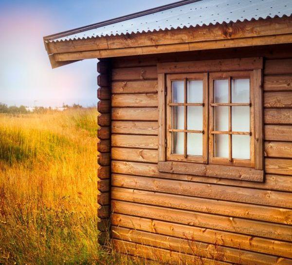 maison bois fenêtre
