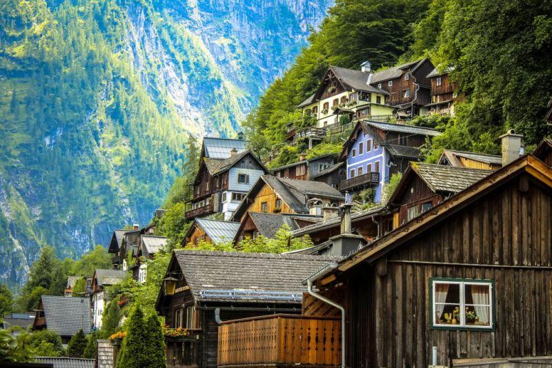 maison bois Scandinavie