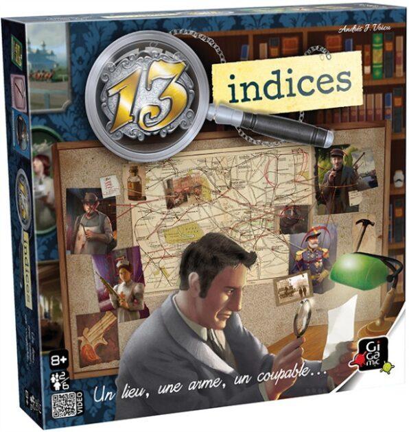 13 Indices   2 à 6 joueurs 8 ans +