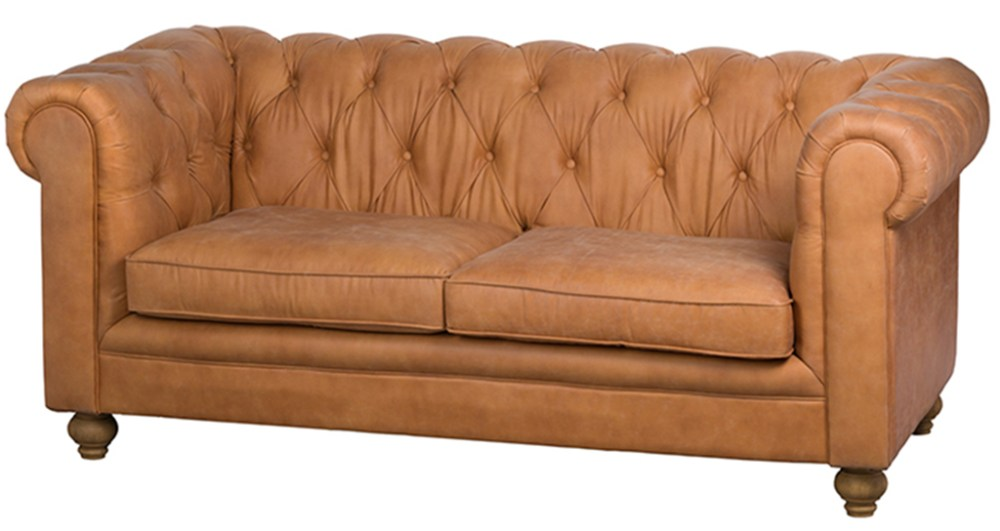 canapé chesterfield 3 places tissu