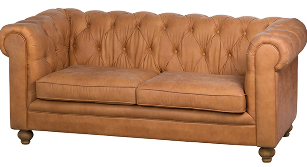 "CANAPE CHESTERFIELD 3 PLACES ""CAMBRIDGE"""