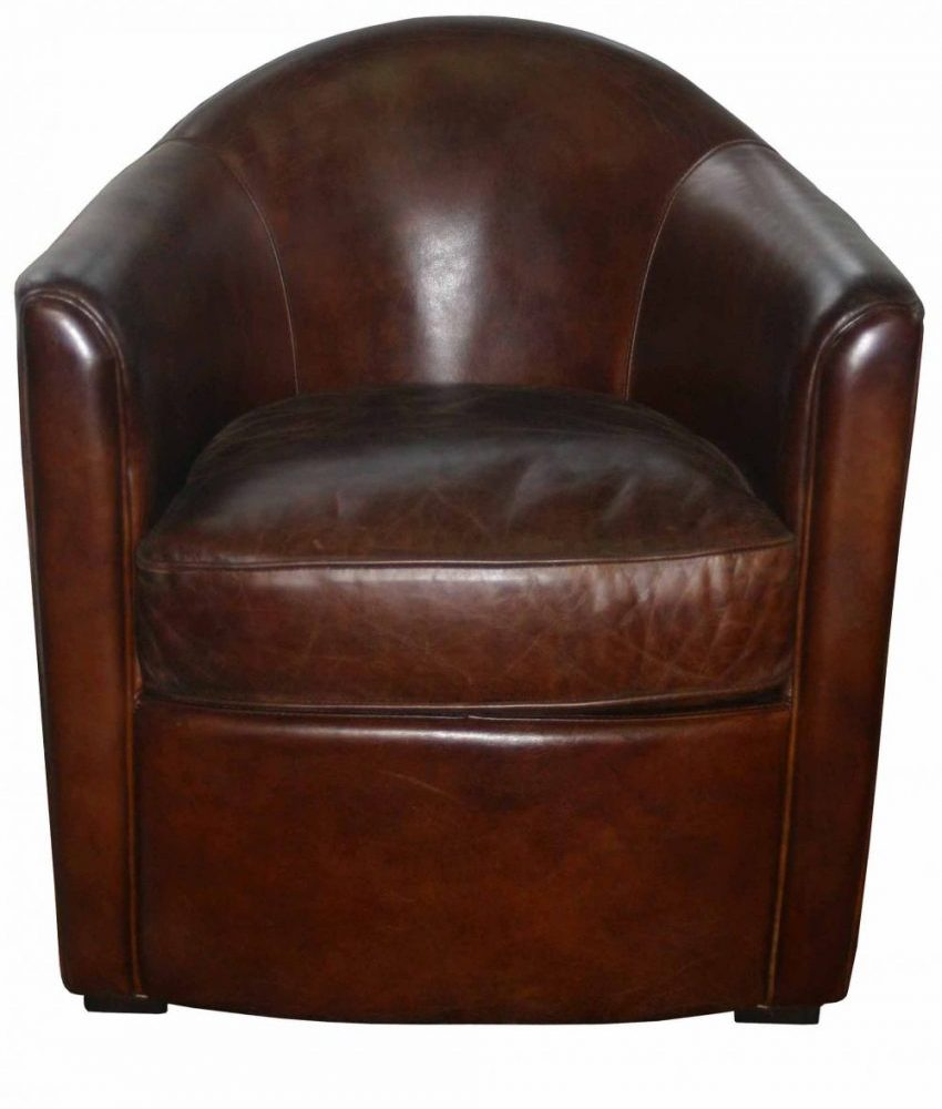 "FAUTEUIL CLUB CUIR ""SEATTLE"""