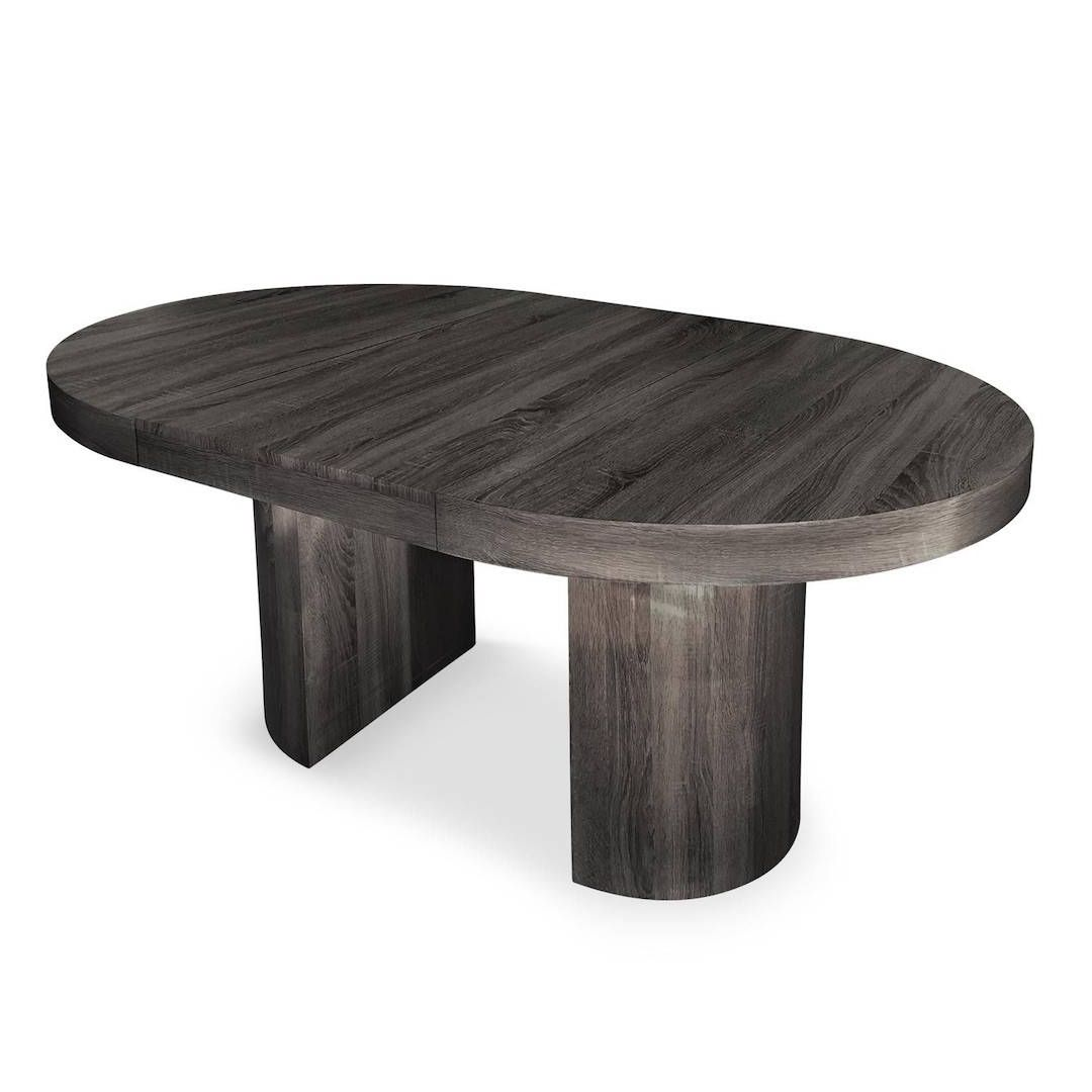 table ronde extensible vintage 12 couverts