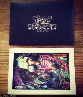 Muramasa Rebirth Lithographie Collector