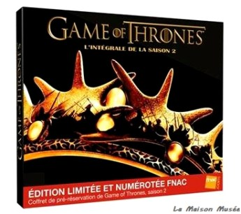 Collector FNAC Game of Thrones