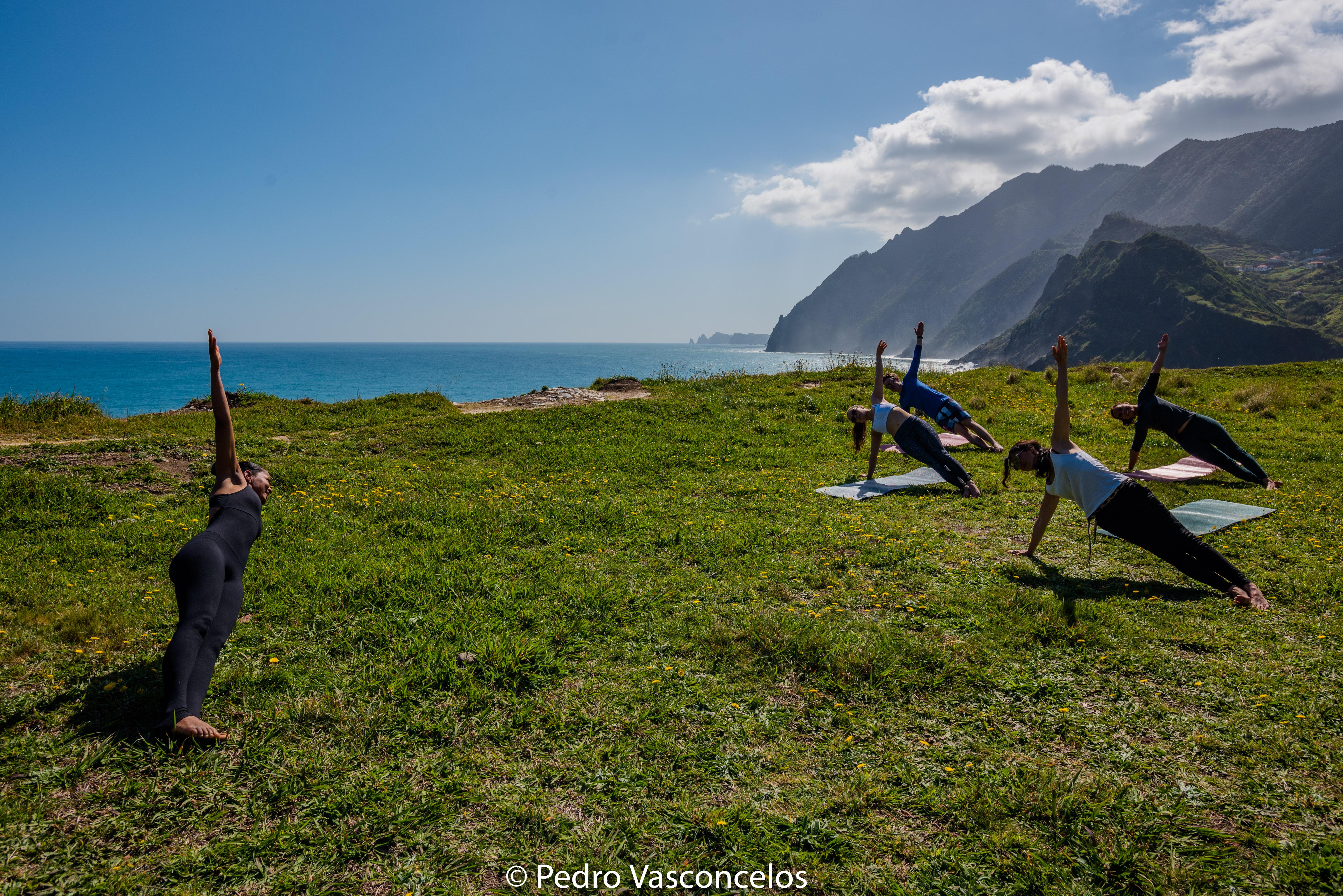 Yoga en pleine air