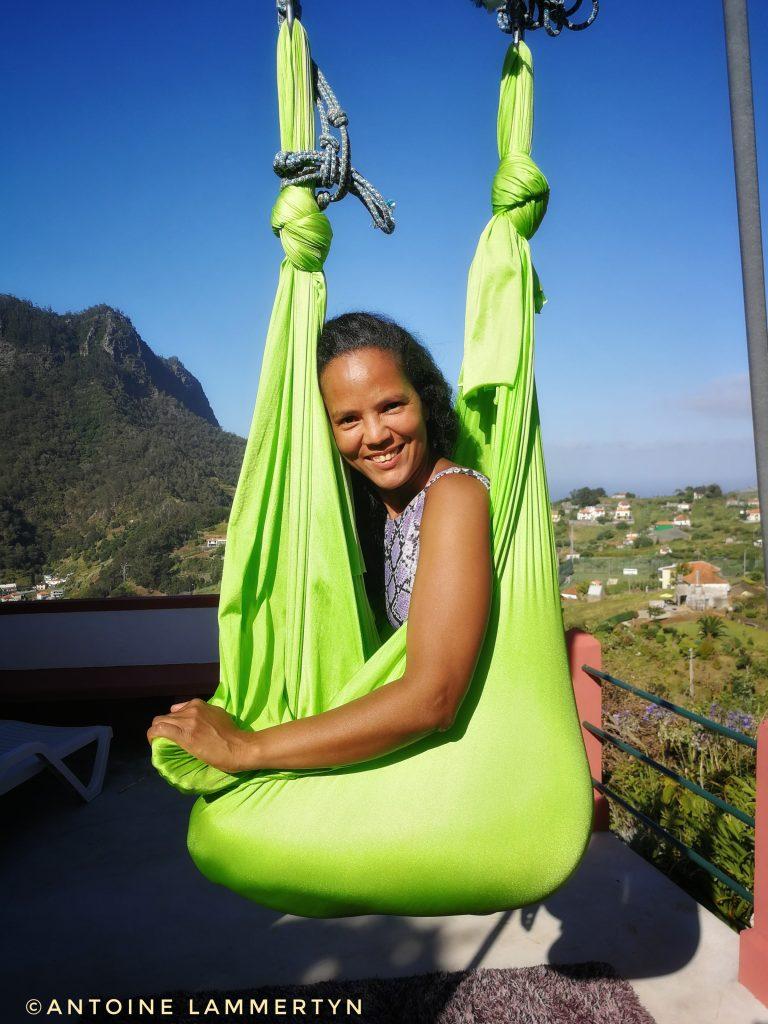 Cilene Lammertyn - professeure de Yoga, masseuse