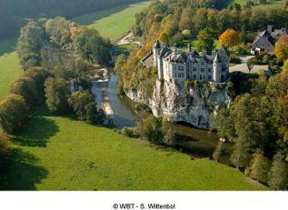 Château de Walzin - photo aérienne