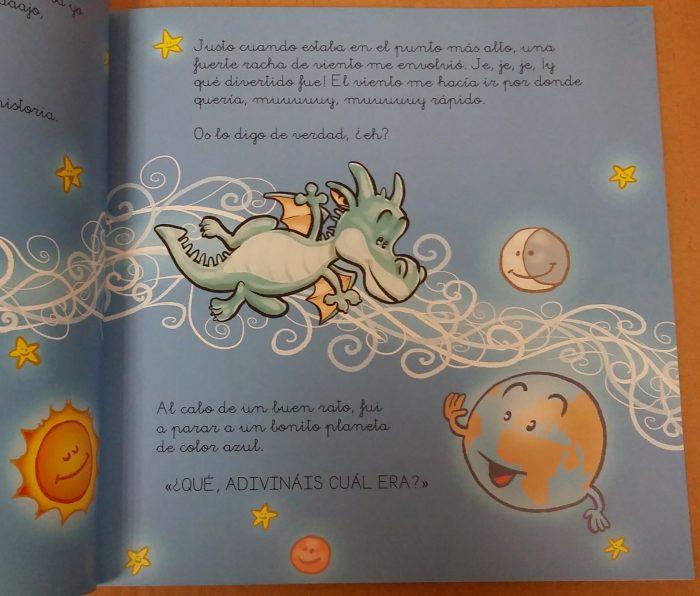 Pascual el dragón Antártida